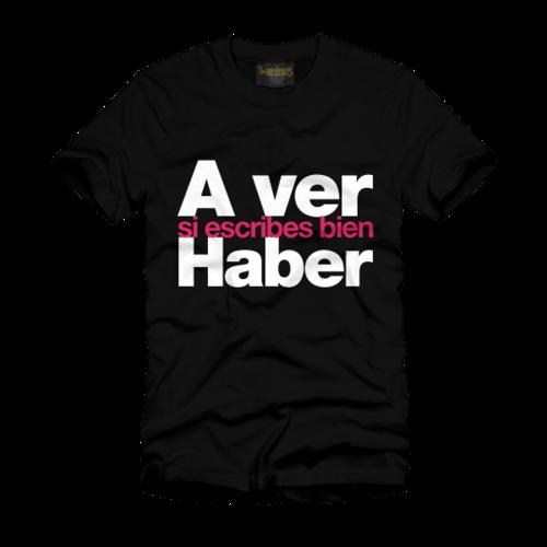 Camisetas de ortografía