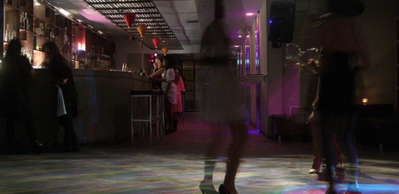 Efecto discoteca vacía en facebook
