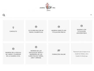 DIseño Web de Academia Proa