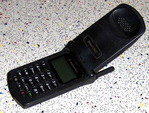 Los 10 diseños más influyentes. Motorola Startac
